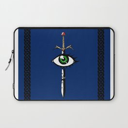 The Reaver in Blue Laptop Sleeve