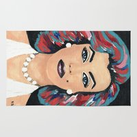 marilyn Area & Throw Rugs featuring Marilyn by Sartoris ART