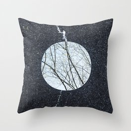 Reflections, Nine Throw Pillow