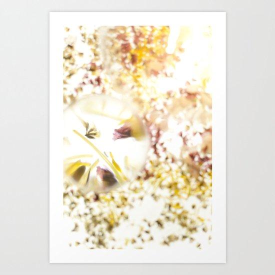 Botanical Blueprints Art Print