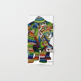 Rainbow Rhino Hand & Bath Towel