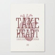 Take Heart Canvas Print