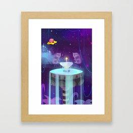 Fountain of Dreams Framed Art Print