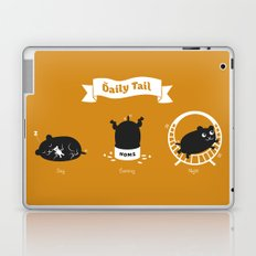 The Daily Tail Hamster Laptop & iPad Skin