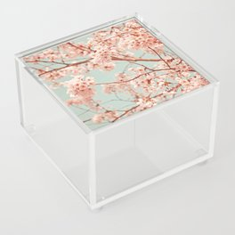 blossoms all over Acrylic Box