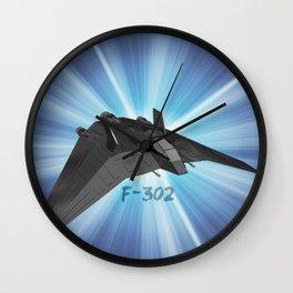 F-302 design 2 Wall Clock
