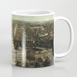 View of Washington City, Washington D.C., (1871) Coffee Mug