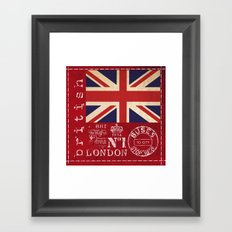 Great Britain Framed Art Print