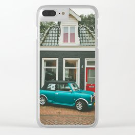 Amsterdam Mini small house Clear iPhone Case