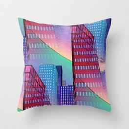 look into the sky -7- Throw Pillow
