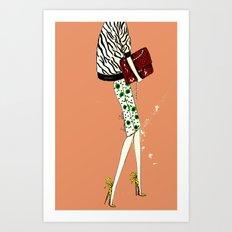 Brocha Art Print