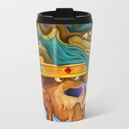 """""""Prince John & Sir Hiss"""" Travel Mug"""