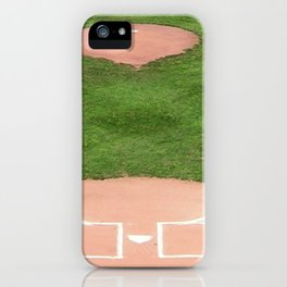 Baseball field iPhone Case