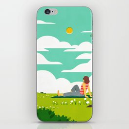 How to be Happy IV iPhone Skin