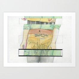 2 p.m. Art Print