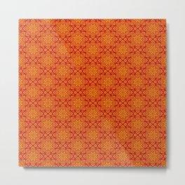 beautiful oriental (eastern) pattern Metal Print