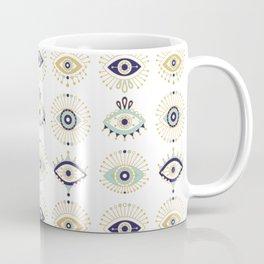 Evil Eye Collection on White Coffee Mug