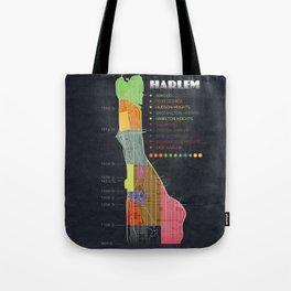 Harlem Map Tote Bag