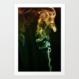 Smoke A-6 (The Minotaurus) Art Print