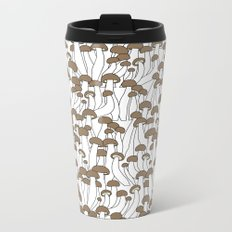 Beech Mushrooms Metal Travel Mug