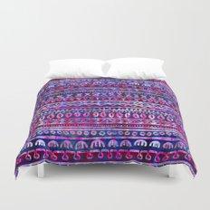Hau'oli Stripe Purple Duvet Cover