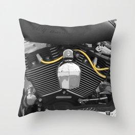 Harley V  Throw Pillow