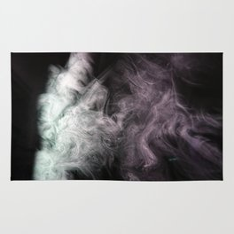 Painting with Smoke - Witch Casts spells Rug