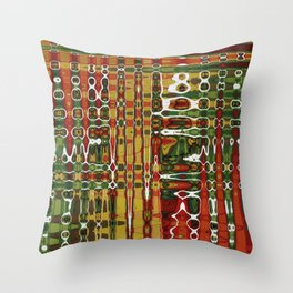 Abstract Art Work Geometic Throw Pillow