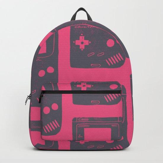 Game Boy on pink Backpack