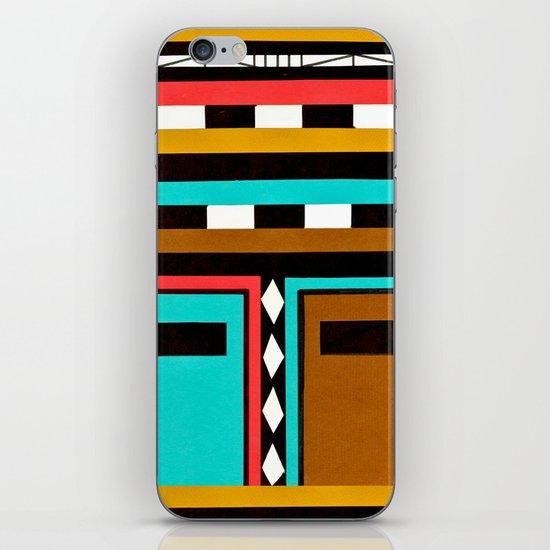 Tribe Mask iPhone & iPod Skin