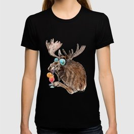 Moose on Vacation T-shirt