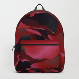 Red frayed abstraction Backpack