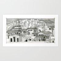 Architectural fantasy_2 Art Print