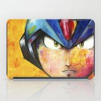 megaman iPad Cases featuring Megaman by Jhaiku