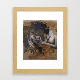 Spit/Swallow Framed Art Print