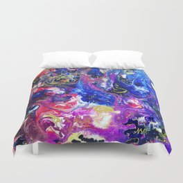 Fluid Color Duvet Cover