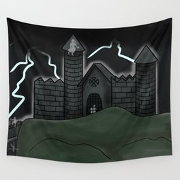 Castle of Ghosts Wall Tapestry