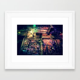 Ruin bar Framed Art Print