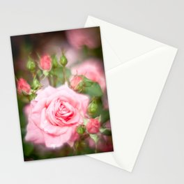 Rose pink Stationery Cards