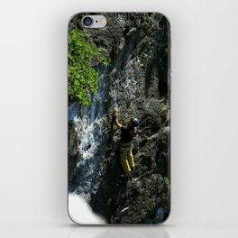 Lions Head Rock Climber iPhone Skin