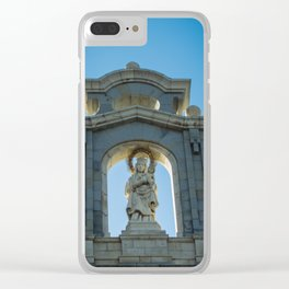 Almudena Cathedral, Madrid Clear iPhone Case