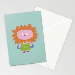 """Super Leona"" Stationery Cards"