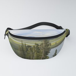 Yellowstone River Valley View Fanny Pack