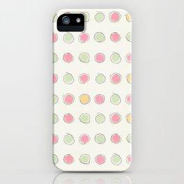 Concentric (circles) iPhone Case