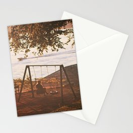 sunset musings Stationery Cards