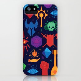 TTRPG Forever - Color iPhone Case