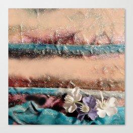 Fleurs de printemps Canvas Print