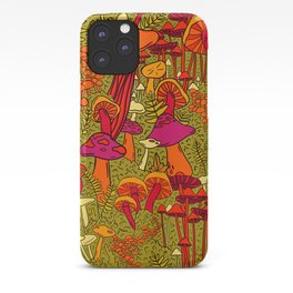 Mushrooms in the Forest iPhone Case