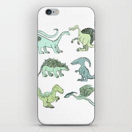 Happy dinosaur iPhone Skin