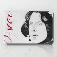 oscar wilde iPad Cases featuring Oscar by beecharly